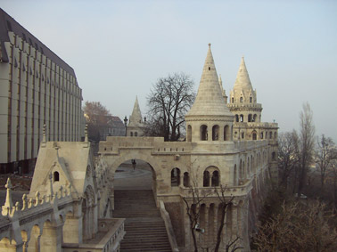 Fisherman's Bastion and the Hilton