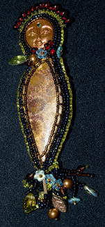 Fossil Coral pin