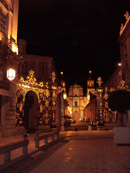 Place Stanislas at night