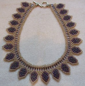 Autumn necklace by Amanda Tinkler