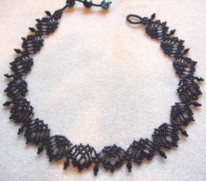 Fans necklace by Amanda Tinkler