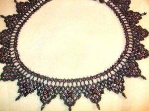 Regal necklace made by Amanda Tinkler