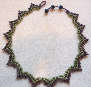 Hearts necklace by Amanda Tinkler