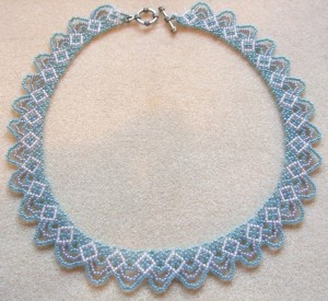 Swags necklace by Amanda Tinkler